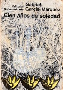 ১৯৬৭ সালে প্রকাশিত মার্কেসের সাড়া জাগানো উপন্যাস শত বছরের নির্জনতা গ্রন্থের প্রথম সংস্করণের প্রচ্ছদ